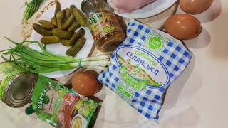 Битва Оливьех👊 рецепт Оливье пп с сельдереем