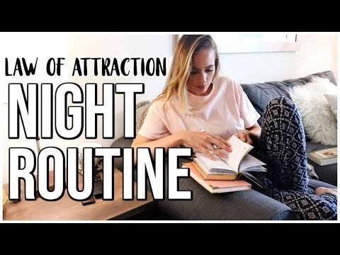 LAW OF ATTRACTION NIGHT ROUTINE  Renee Amberg