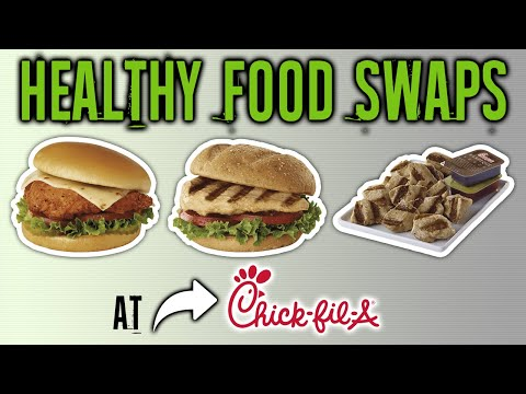Healthiest Foods At Chick-fil-A And The Worst (HEALTHY FAST FOOD SWAPS) | LiveLeanTV