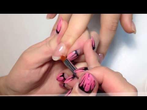 наращивание ногте, укрепление гелем, гель лак, VK