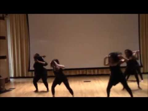 My West African Dance Class performing KuKu