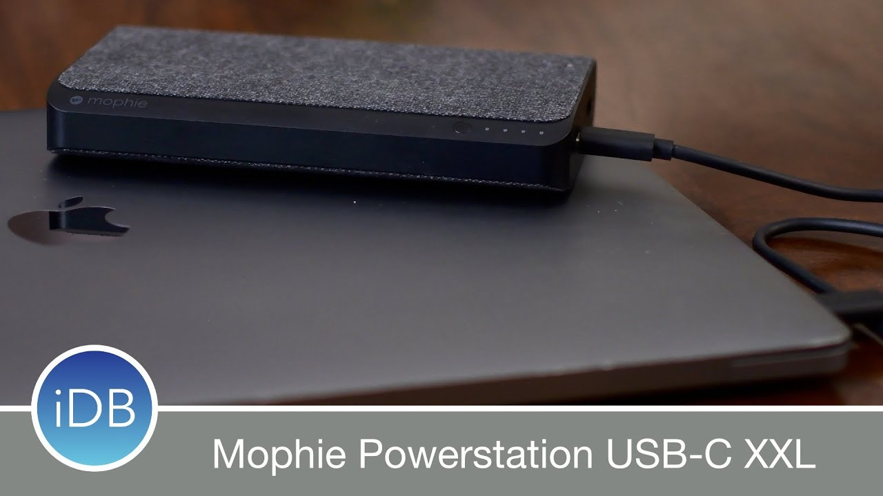 new product f2c96 e3214 Hands On with Mophie Powerstation USB C XXL for MacBook - Review
