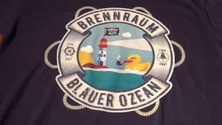 Prof. Fetzenschädel - Blauer Ozean Shirt - www.fleischleibchen.com