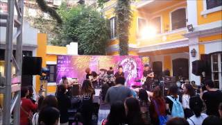 Zenith, Macanese band playing live in Blademark Fest 2016 in Macau.