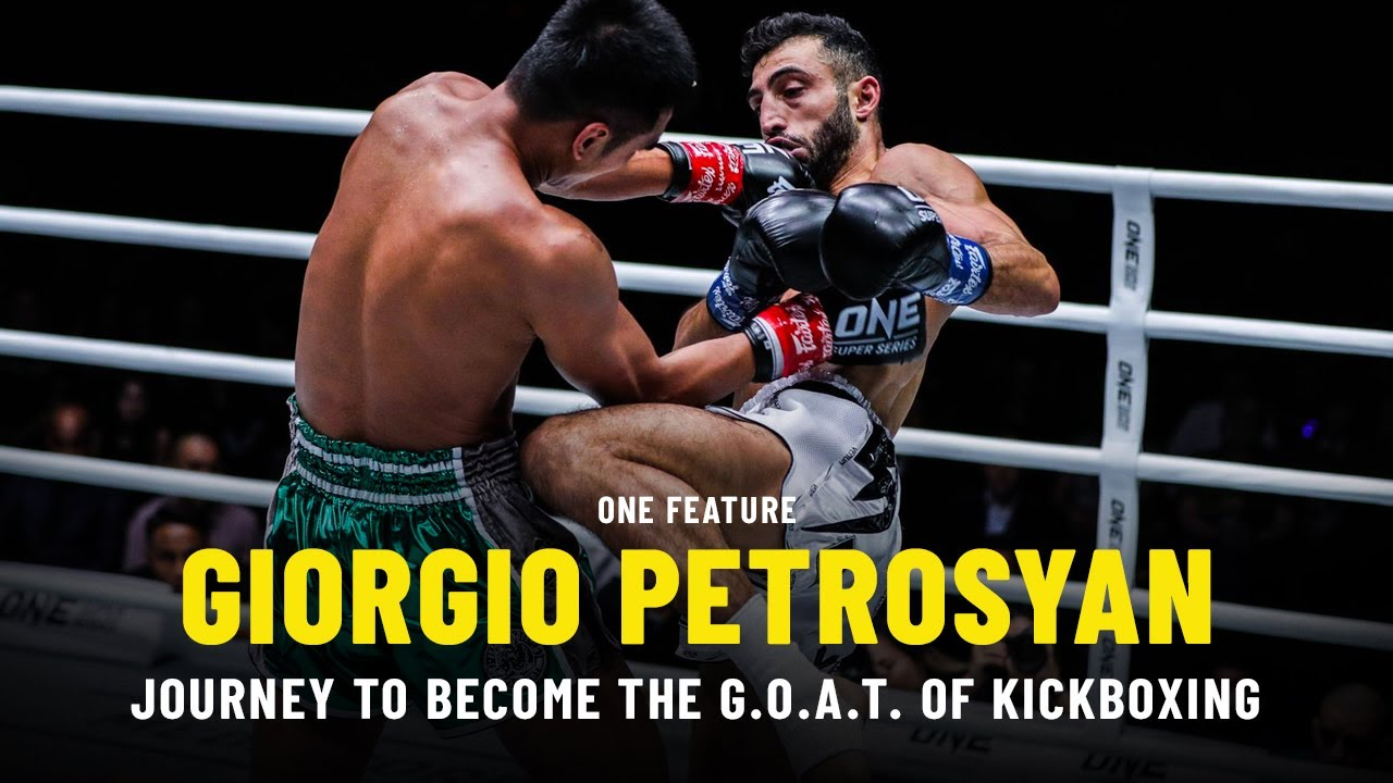 Giorgio Petrosyan's Journey To Become The G.O.A.T. Of Kickboxing | ONE Feature