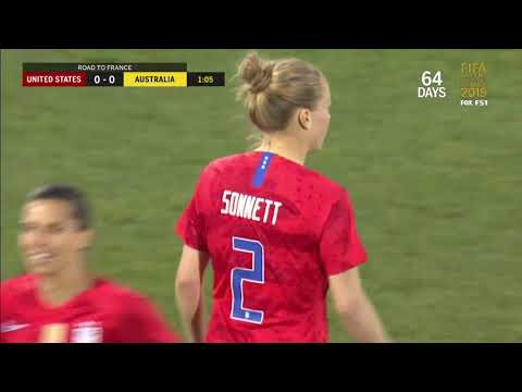USA Vs  Australia ⚽ Women's Soccer HD