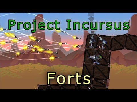 Forts Official Coop Tournament - Forts RTS - Project Incursus Livestream