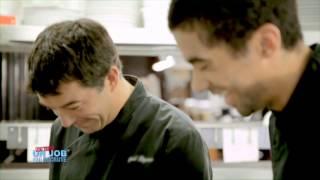 Stéphane PLAZA teste le métier de Chef de Partie en Cuisine