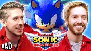 THE FOURTH HAT MEMBER ? | Team Sonic Racing