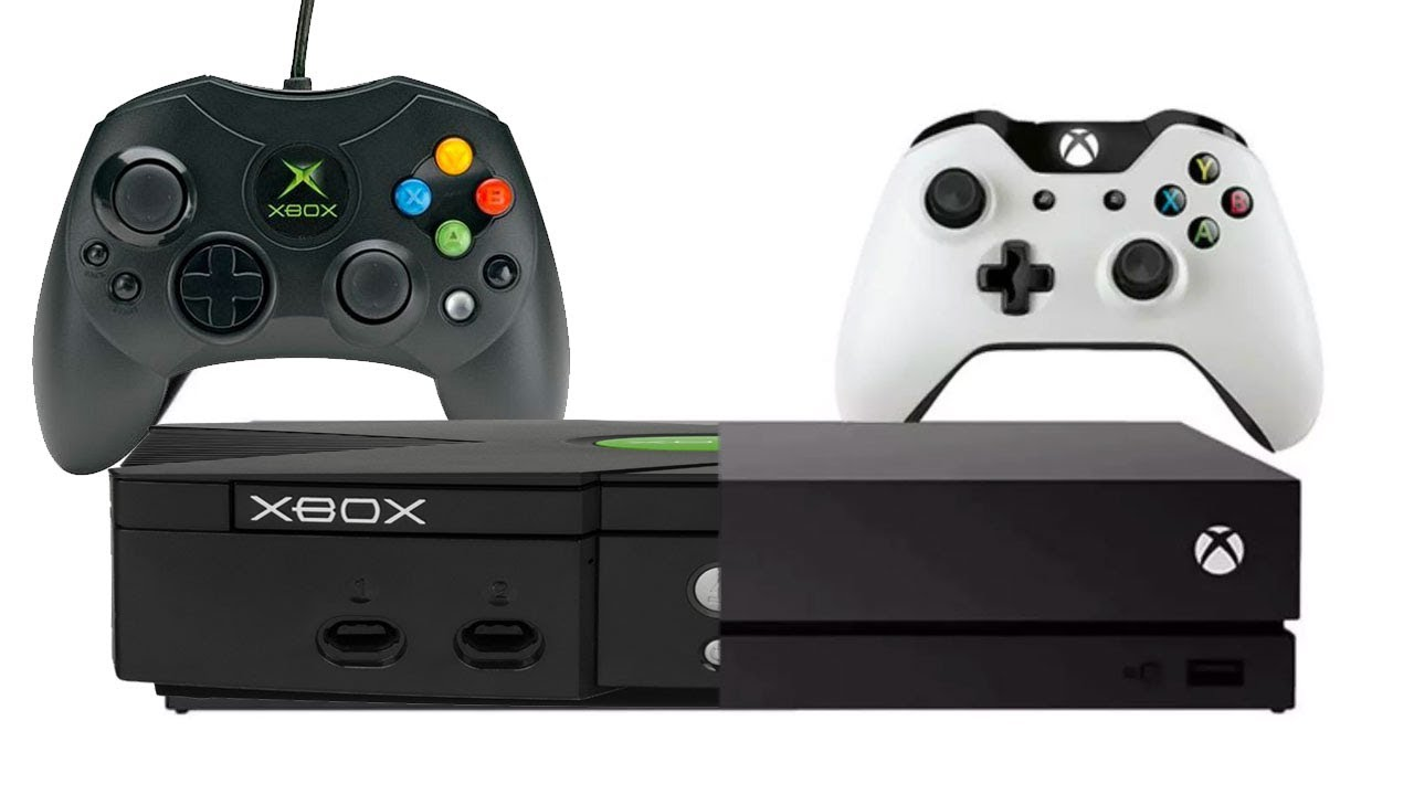 Xbox One X vs The Original Xbox