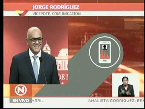 Jorge Rodríguez: Actividades escolares en Venezuela se reanudan el lunes 18