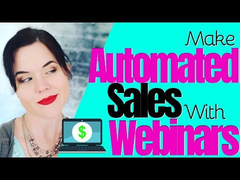 Affiliate Marketing | How To Make Money with Webinar Marketing