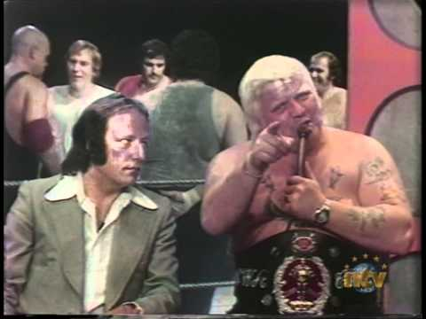 """Great Wrestling Promo with Ed """"Sailor"""" White - Newfie Style!"""