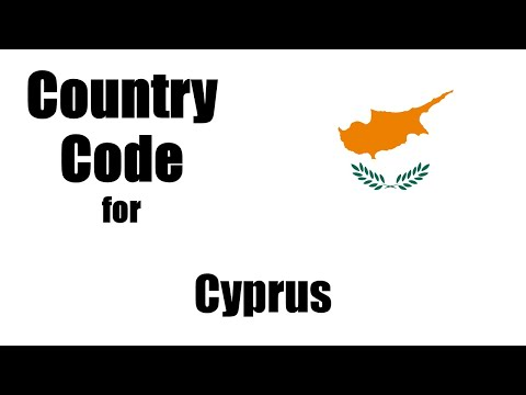 Cyprus Dialing Code - Cypriot Country Code - Telephone Area Codes In Cyprus