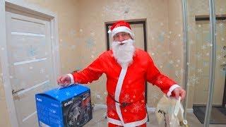 Старый НОВЫЙ ГОД! Дед Мороз подарил мне ИГРОВОЙ РУЛЬ и УЕХАЛ на СЕГВЕЕ