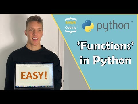 'Functions' in Python - Easy Tutorial thumbnail