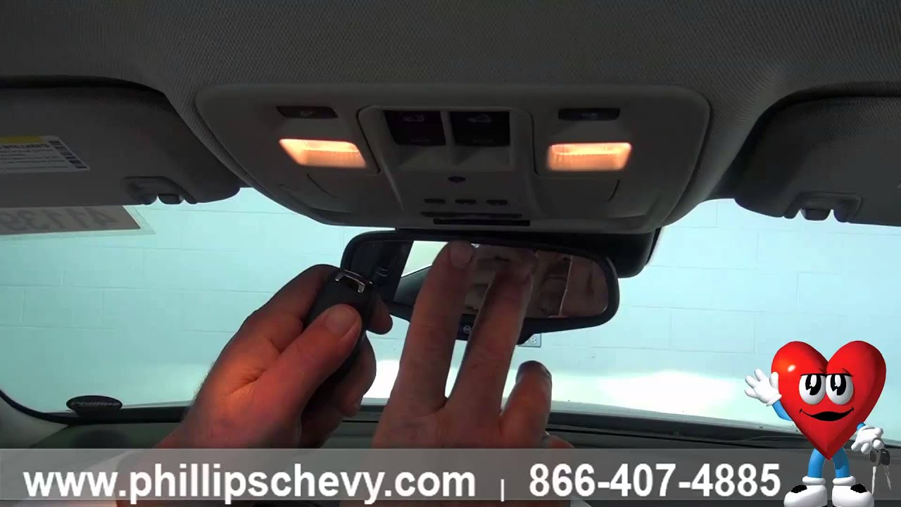 Phillips Chevrolet 2014 Chevy Malibu Homelink And Sunroof New Car Dealership Youtube
