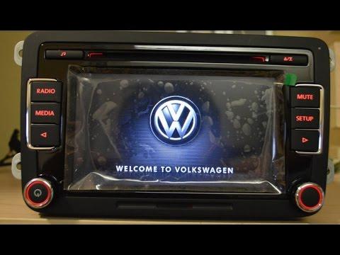 Volkswagen Golf VI Jetta MK5 MK6 Passat B6 магнитола