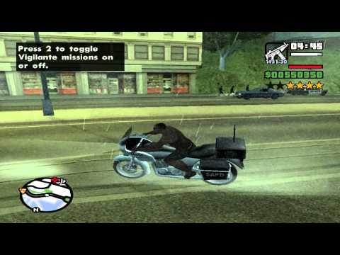 GTA San Andreas - 6 Stars Wanted Level (Episode 1) | HD