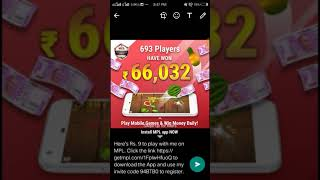 MPL PRO GAME UNLIMITED TOKEN AND CASH | MPL GAME UNLIMITED TRICK AND TIPS