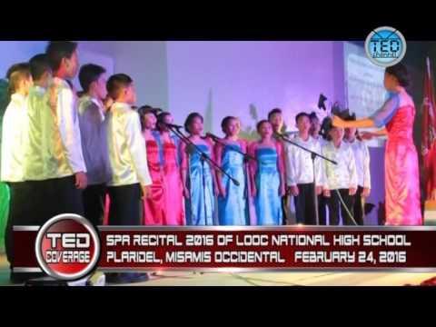 TED Channel: Looc National High School SPA Recital 2016