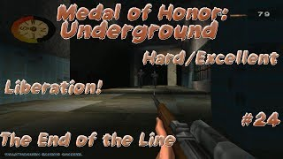 1920x1080 PSX MOH Underground 2000 Hard Excellent 24 Liberation The End Of The Line