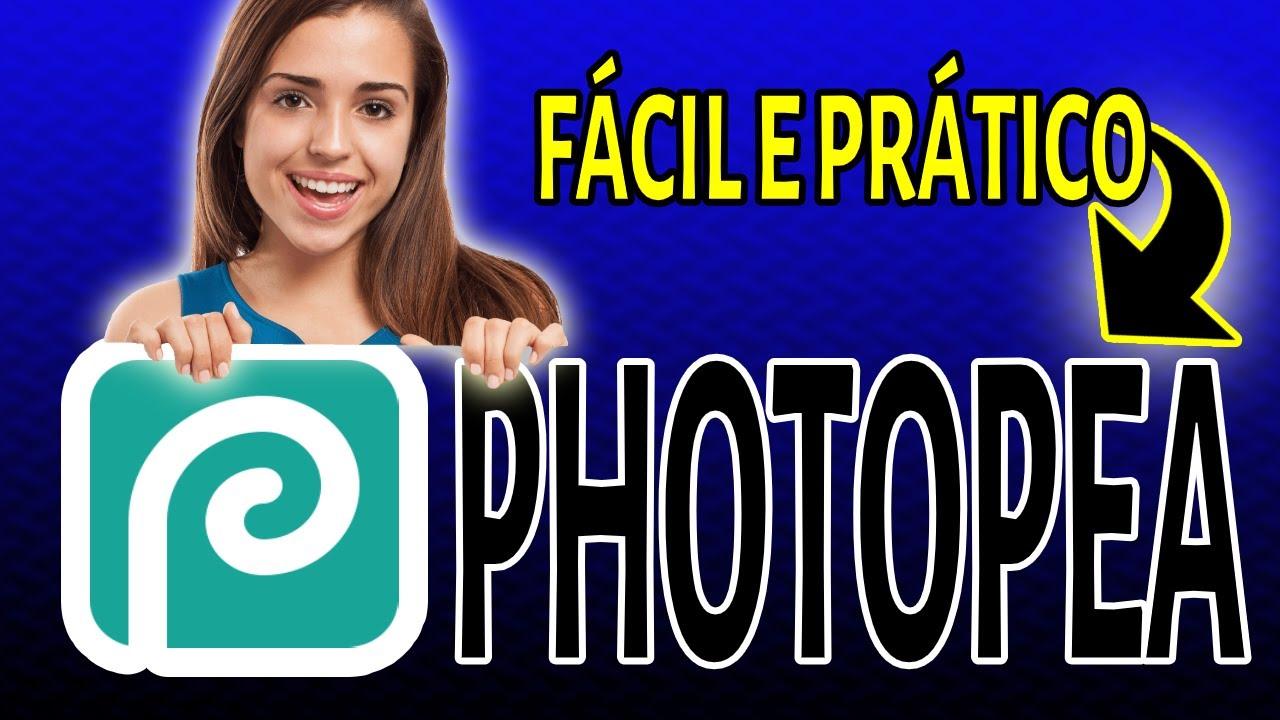 COMO CRIAR SUA THUMBNAIL COM PHOTOPEA EDITOR GRATUITO MUITO PARECIDO COM PHOTOSHOP-TUTORIAL BRASIL