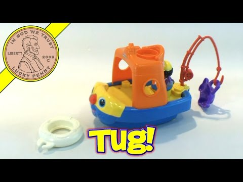 Fisher-Price Little People Baby Fishing Floaty Tug Boat Ship Toy Kids Toy Reviews