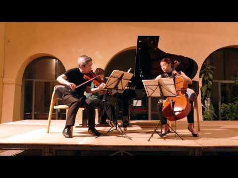 14.07.15 - Rivarolo M. - P. I. Tchaikovsky: Trio in la min., Op. 50 - C. Shih; N. Yuan Hu; S. In Lee
