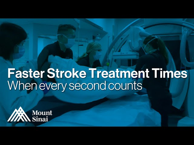 Faster Stroke Treatment Times | Mount Sinai Queens, New York City