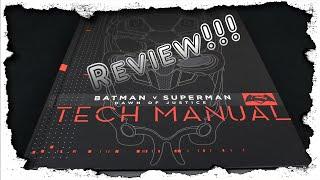 Batman V Superman Tech Manual Review