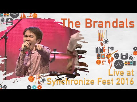 The Brandals live at Synchronize Fest - 29 Oktober 2016