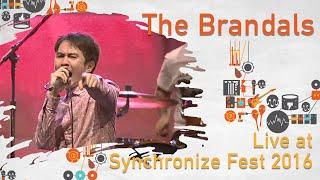 The Brandals live at Synchronize Fest - 29 Oktober 2016
