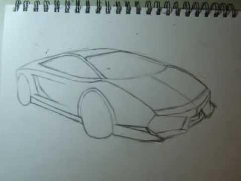 how to draw lamborghini gallardo 082509 hp