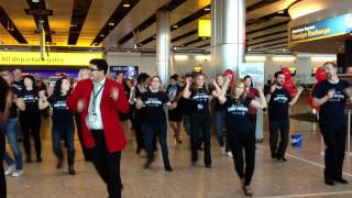 Delta Air Lines - Day of Hope Flashmob at London Heathrow