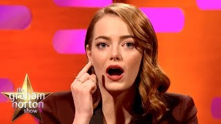 Emma Stone Lost BOTH her Contacts During A Theatre Performance! | The Graham Norton Show