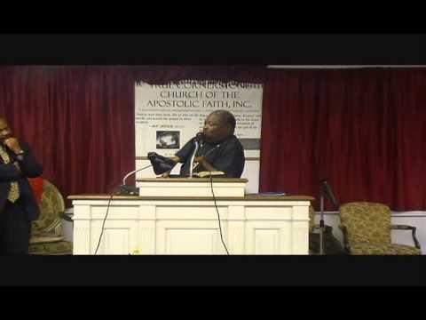 APOSTLE JAMES CLEVELAND PREACHING AT TRUE CORNERSTONE CHURCH