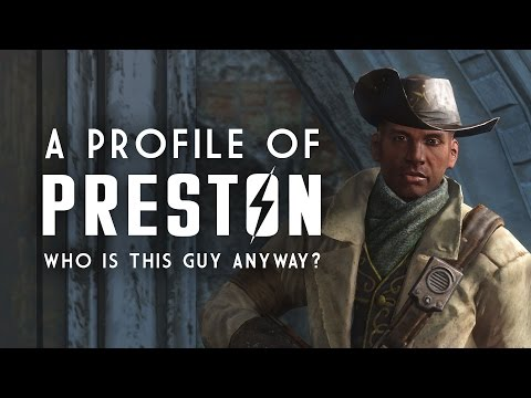 A Profile of Preston Garvey - Who is He Anyway? - Fallout 4 Lore
