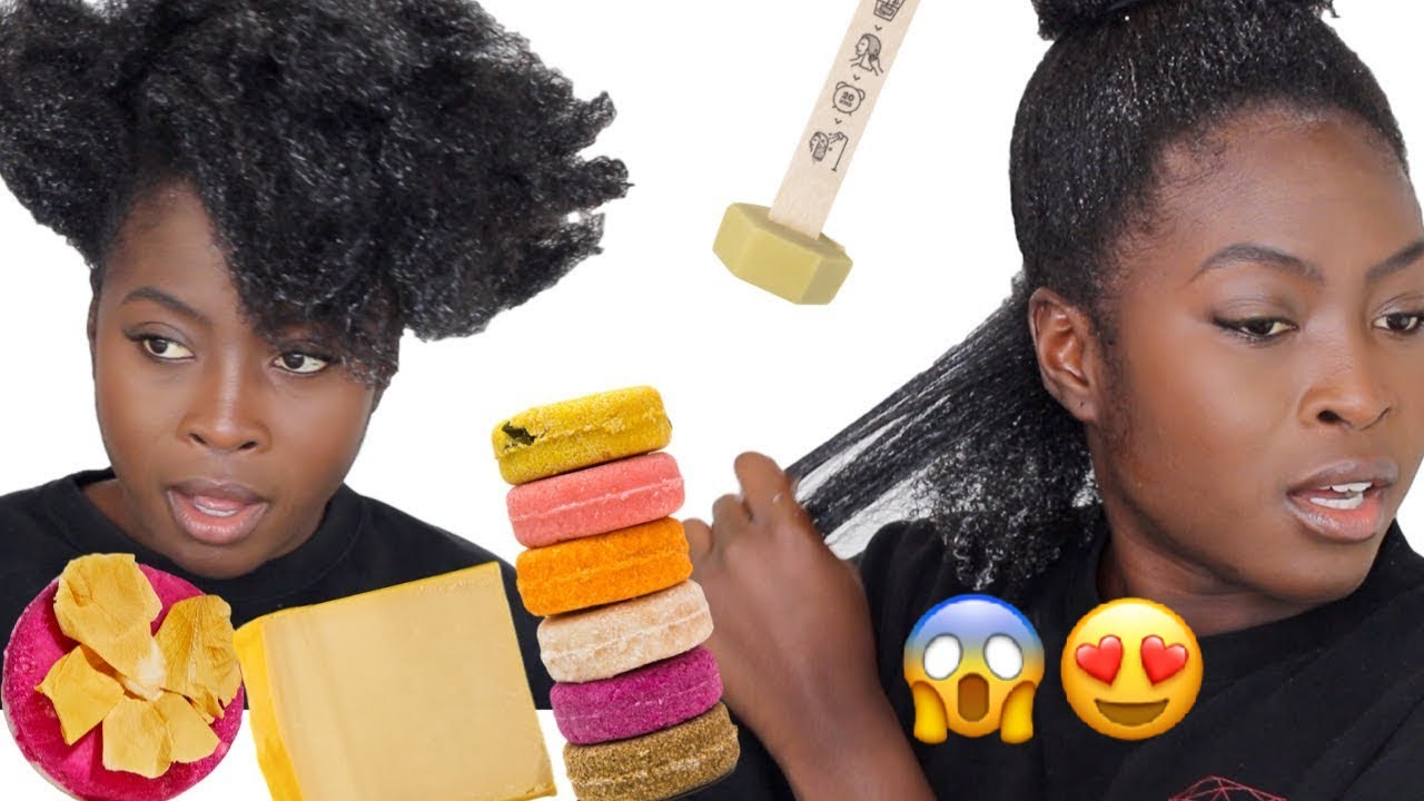 I Did Not Expect This These Products Transformed My Natural Hair Youtube
