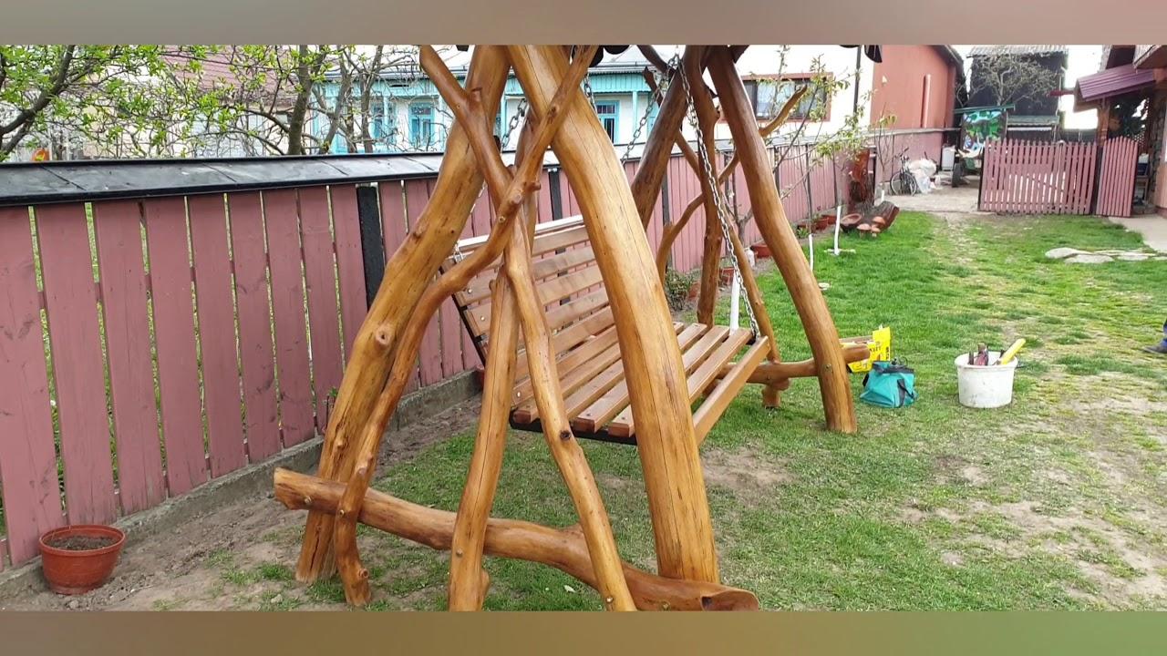 Download Leagăn construit din lemn