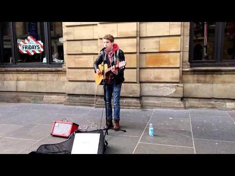 Andrew Duncan - Busking in Glasgow