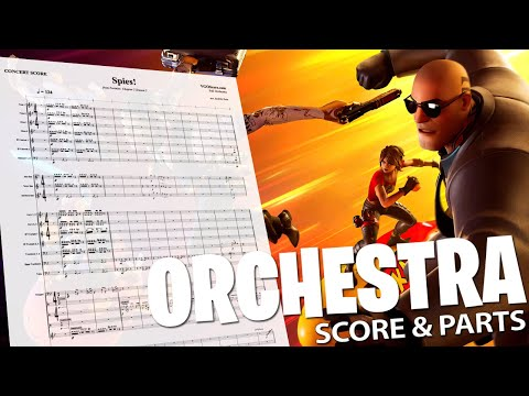 Fortnite: Spies! | Orchestral Cover