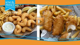 Craft Beer Battered Seafood