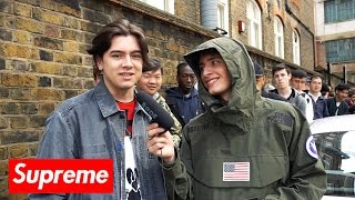 One of Magnus Ronning's most viewed videos: Here's What Went Down At The Supreme & The North Face 2017 Drop!