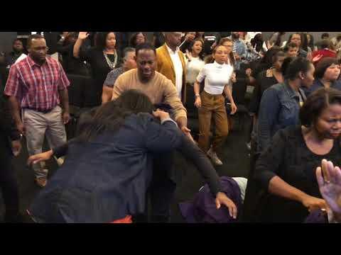Crazy Praise Break at The Harvest Tabernacle Church!!! 10/21/18
