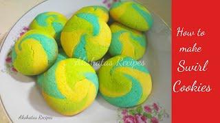 Swirl Cookies RecipeEasy recipe