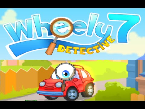 Wheely 7 Detective Walkthrough