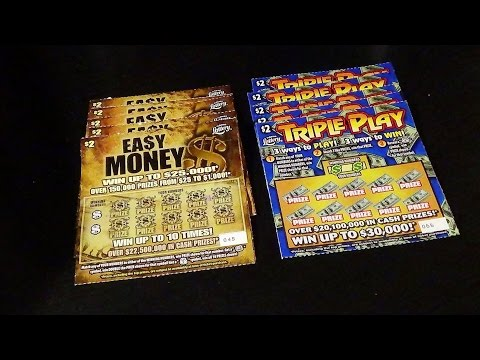Ep. 20 Part 1:  EASY MONEY + TRIPLE PLAY FL Lottery Scratch-Off Tickets