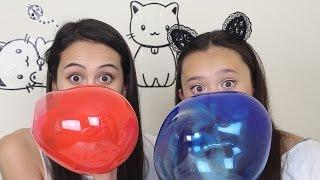 Magic Balloons testen met MeisjeDjamila!