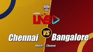 Cricbuzz LIVE: Match 1, Chennai vs Bangalore, Post-match show